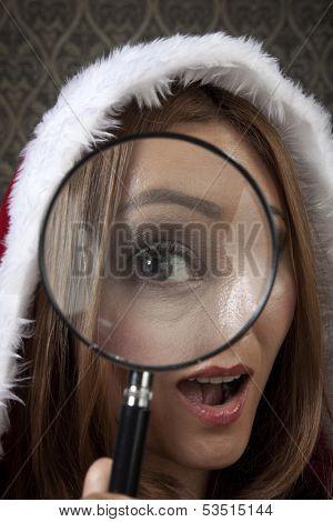Mrs Santa found something unexpected.
