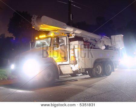 Power Utility Truck