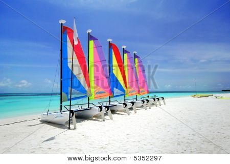 Colorful Sailing Boat