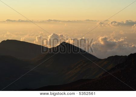 Haleakala na parte da manhã