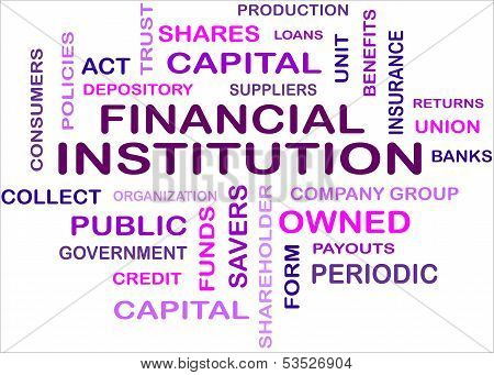 Word Cloud - Financial Instit...