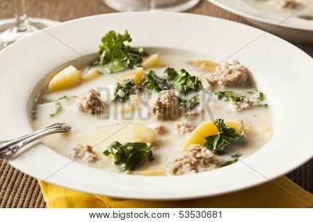 Sausage And Kale Tuscana Soup