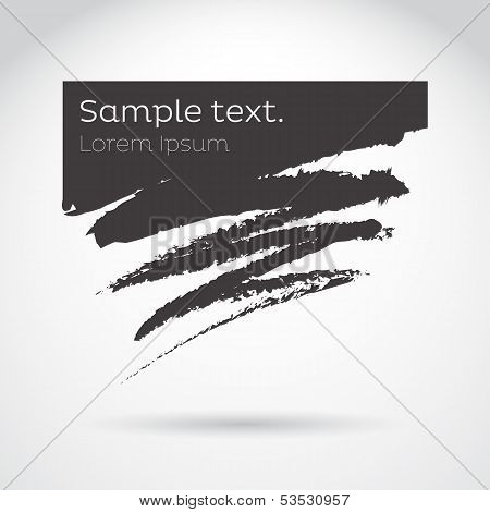 Brush Abstract Vector Background