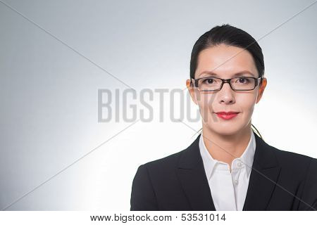 Stylish Confident Businesswoman