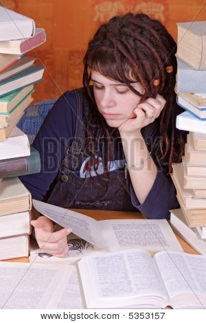 Learner With Books