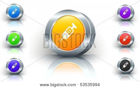 Injection Color Button Set