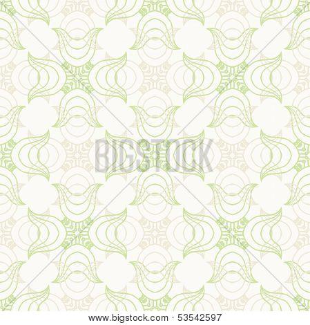 White luxurious pattern