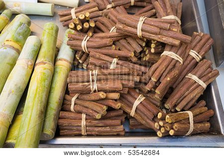 Liquorice And Sugar Cane