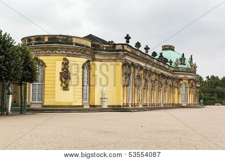 Sanssouci Palace,potsdam, Germany