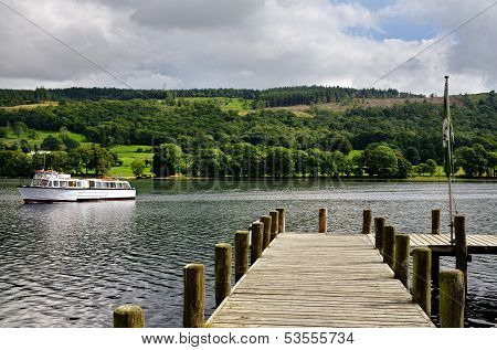 Jetty on Coniston Water