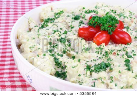 Potato Salad With Grape Tomatoes