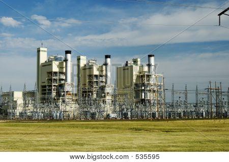 Planta de energía eléctrica