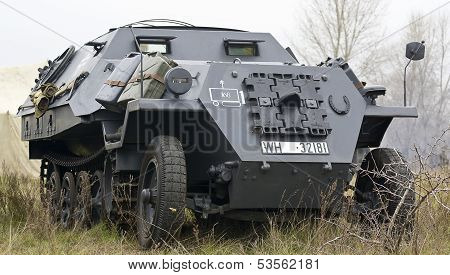 Kiev, Ukraine - November 3: German Track Carrier From World War Ii November 3 , 2013 In Kiev, Ukrain
