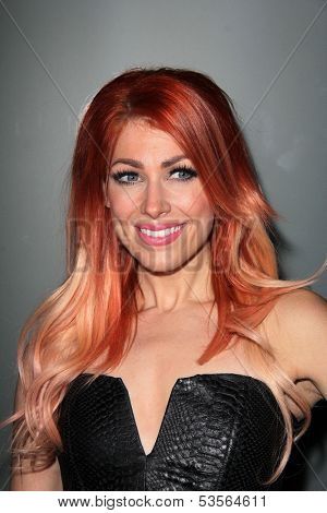 LOS ANGELES - NOV 7:  Bonnie McKee at the Flaunt Magazine November Issue Party at Hakkasan on November 7, 203 in Beverly Hills, CA
