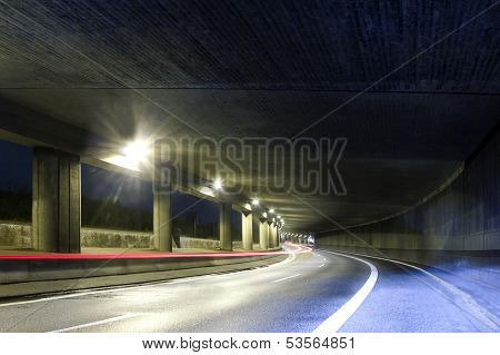Modern Street Tunel