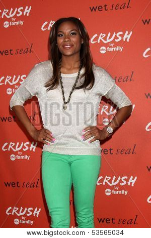LOS ANGELES - NOV 5:  Lindsey Harding at the CRUSH by ABC Family Clothing Line Launch at London Hotel on November 5, 2013 in West Hollywood, CA