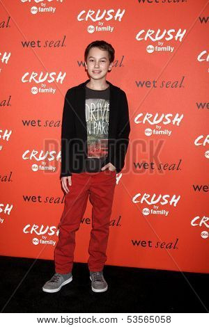 LOS ANGELES - NOV 6:  Hayden Byerly at the CRUSH by ABC Family Clothing Line Launch at London Hotel on November 6, 2013 in West Hollywood, CA