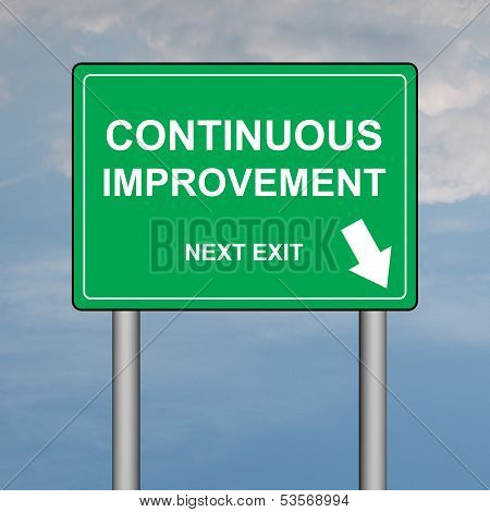 Continuous improvemet