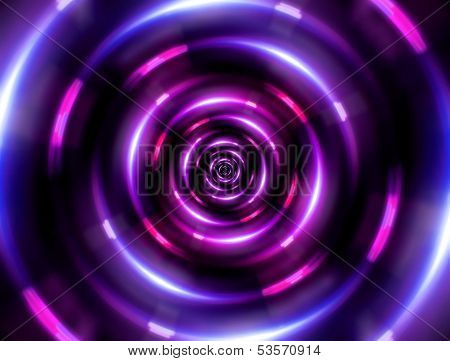 Ring Tunnel Pink
