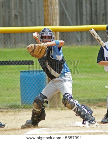 Catcher Throwing