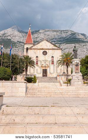 St. Mark's Church In Makarska