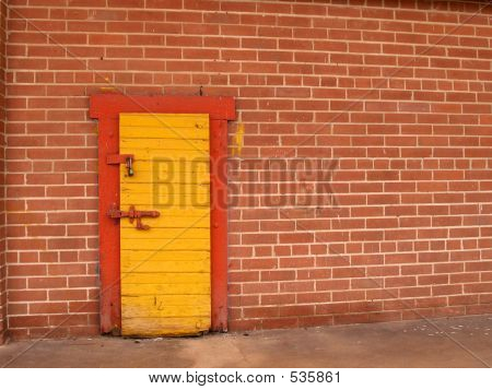 Yellow Door Red Trim 2