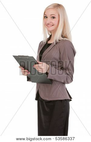 Attractive Young Businesswoman