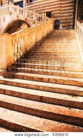 Classic Stone Stairs