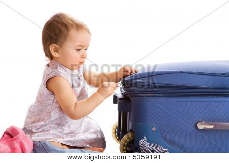 Baby Zipping Suitcase