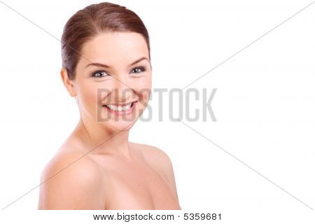 Beautiful Smiling Brunette