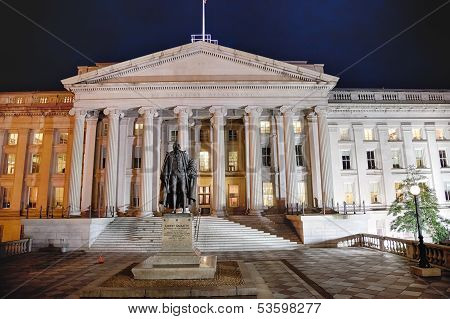 Department Of The Treasury - Washington D.c., Usa