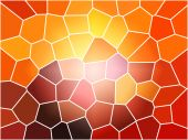 picture of stained glass  - A Large multi colored stain glass background - JPG