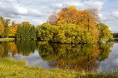 stock photo of tsarskoe  - Catherine park in Pushkin  - JPG