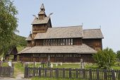 The Stave Church At Uvdal