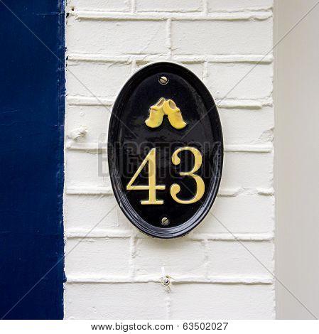 Number 43