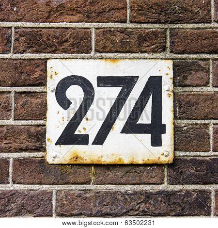 Number 274
