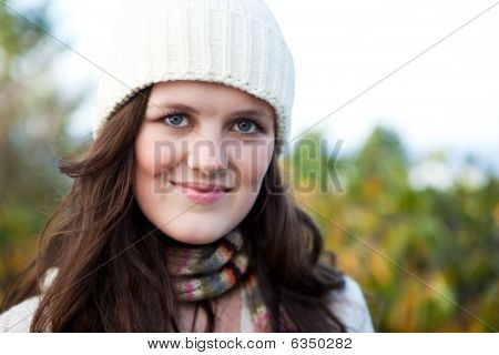Beautiful Teenager Outdoor