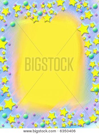 Shooting Stars Frame