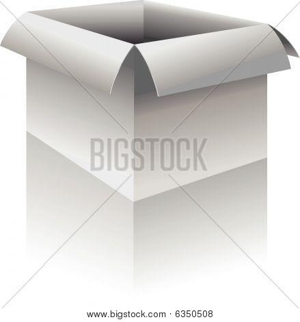 Caja - ilustración vectorial
