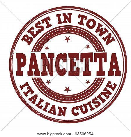 Pancetta Stamp