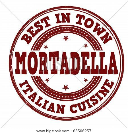 Mortadella Stamp