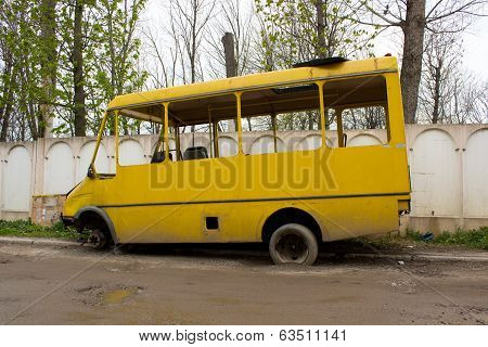 A Broken Old Bus