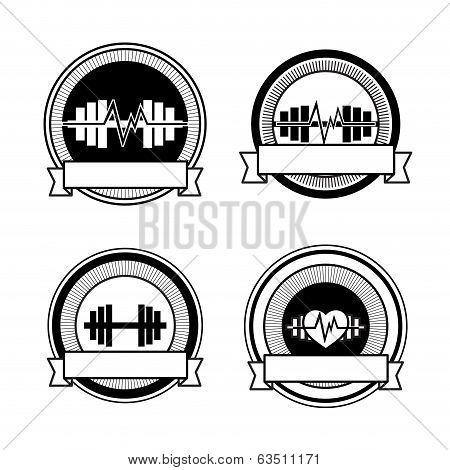 Healthy sports vector