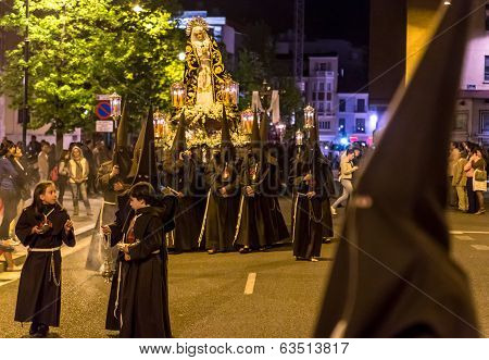 Valladolid Good Thursday Night 2014 02