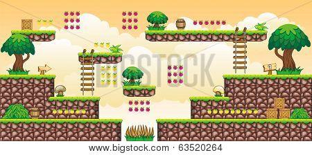 2D Tileset Platform Game 44.eps