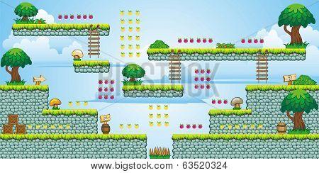 2D Tileset Platform Game 47.eps
