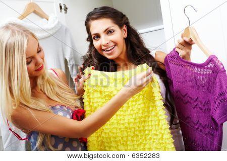 Selecting Dresses