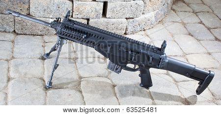 Assault Rifle Closeup