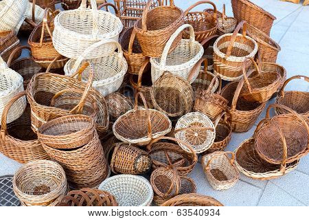 Wicker Baskets For Sale