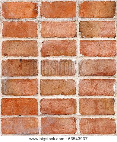 Red Brick Wall, Repeating Tile